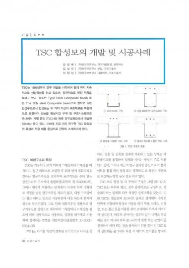 10.TSC합성보의개발및시공사례